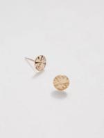 Devi devi starburst gold earring
