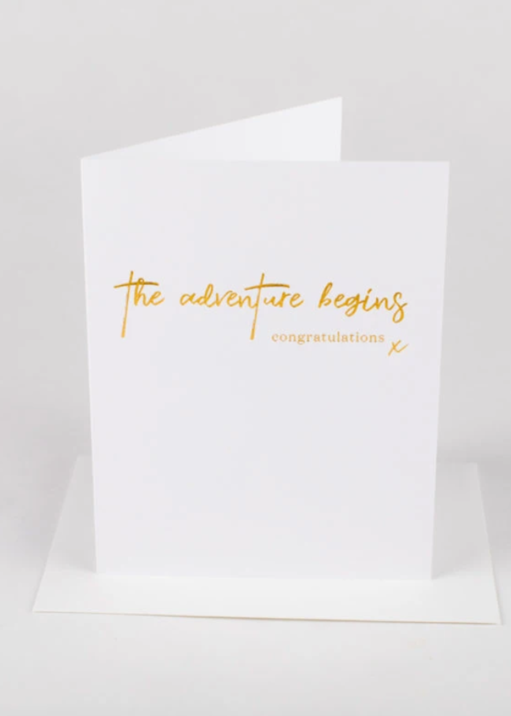 Wrinkle and Crease The adventure begins card