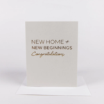 Wrinkle and Crease New Home Card
