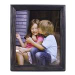 8x10 Black wood frame