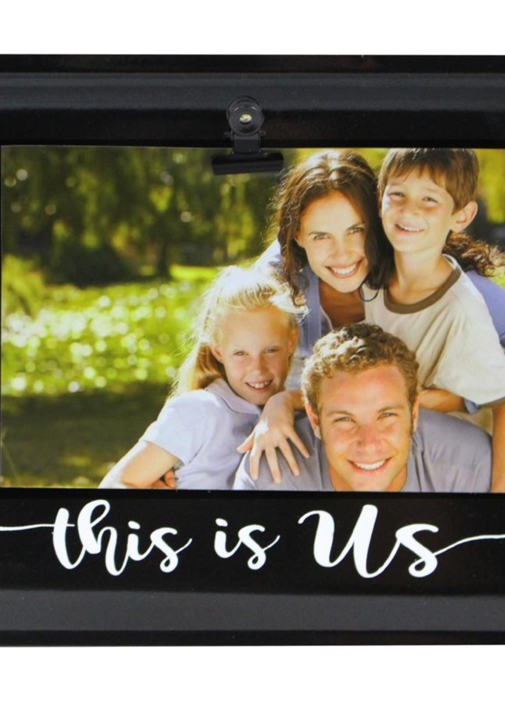 Metal frame This is us clip