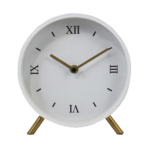 Desk Clock White