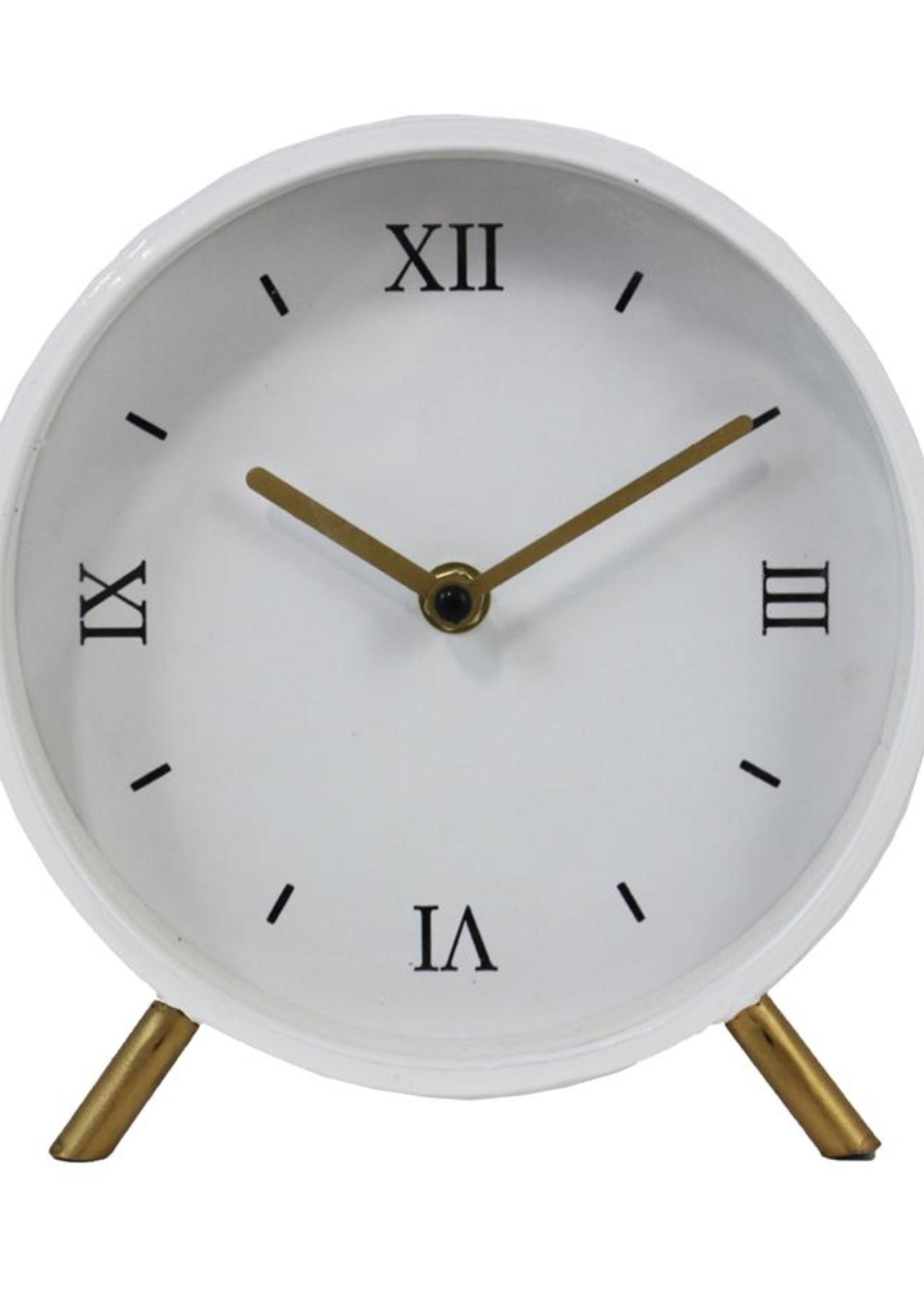 Desk Clock White