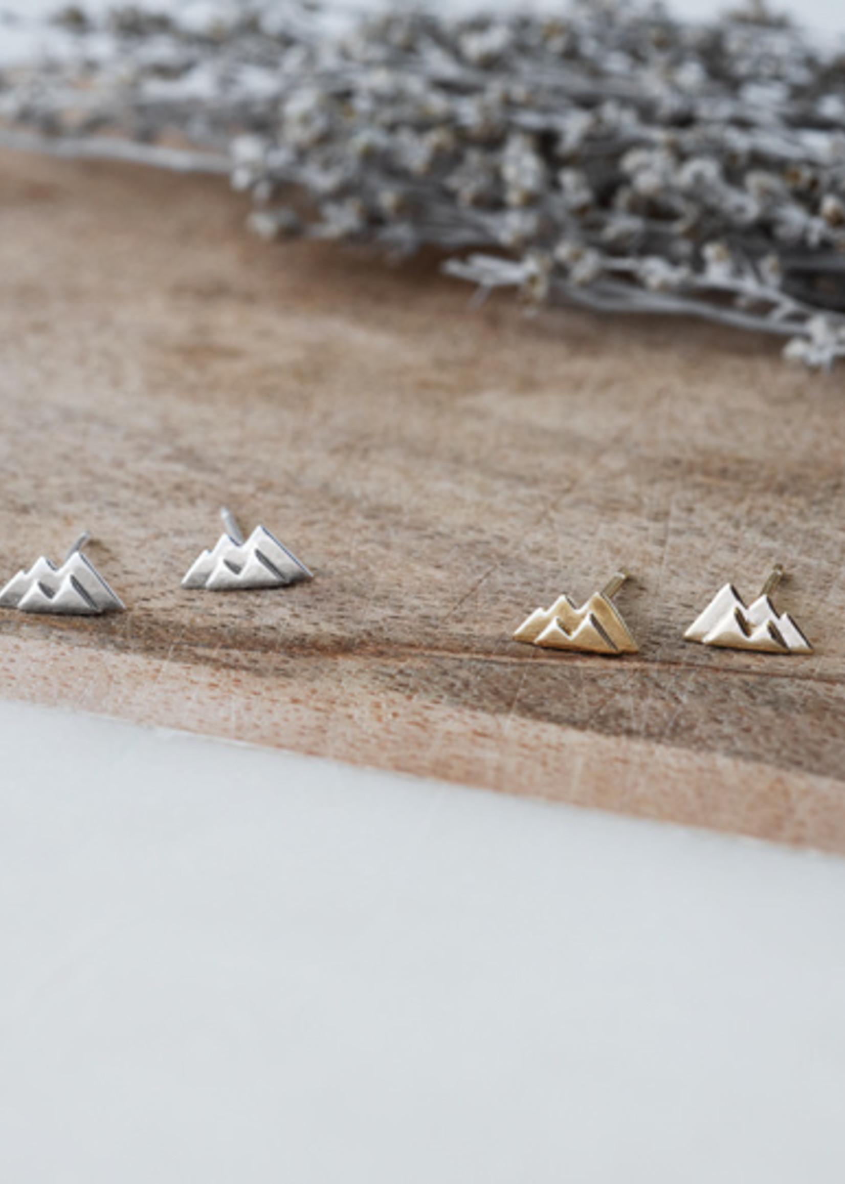 Glee Jewelry Garibaldi Silver Stud