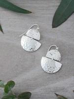 Glee Jewelry Georgia Earrings Silver