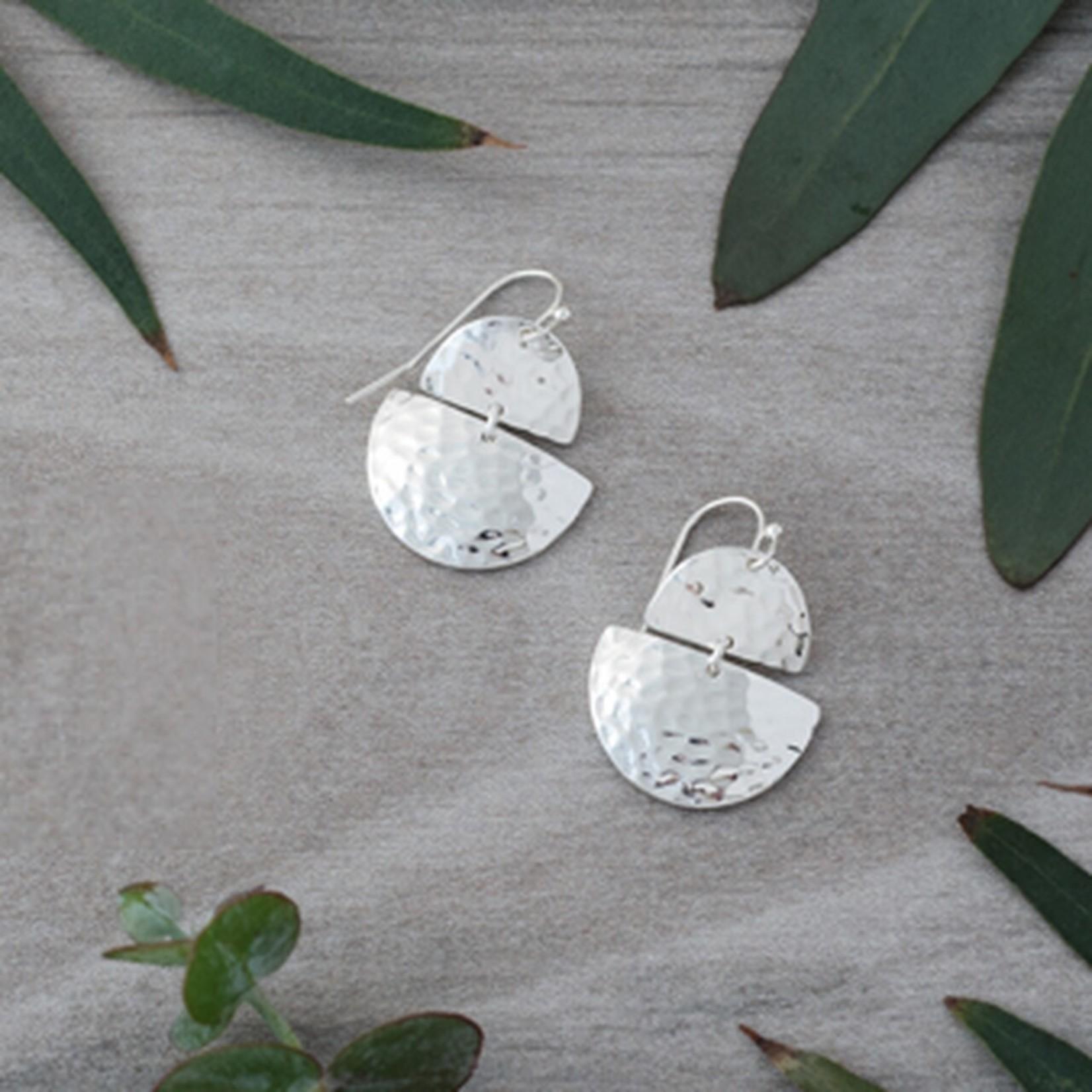 Georgia Earrings Silver