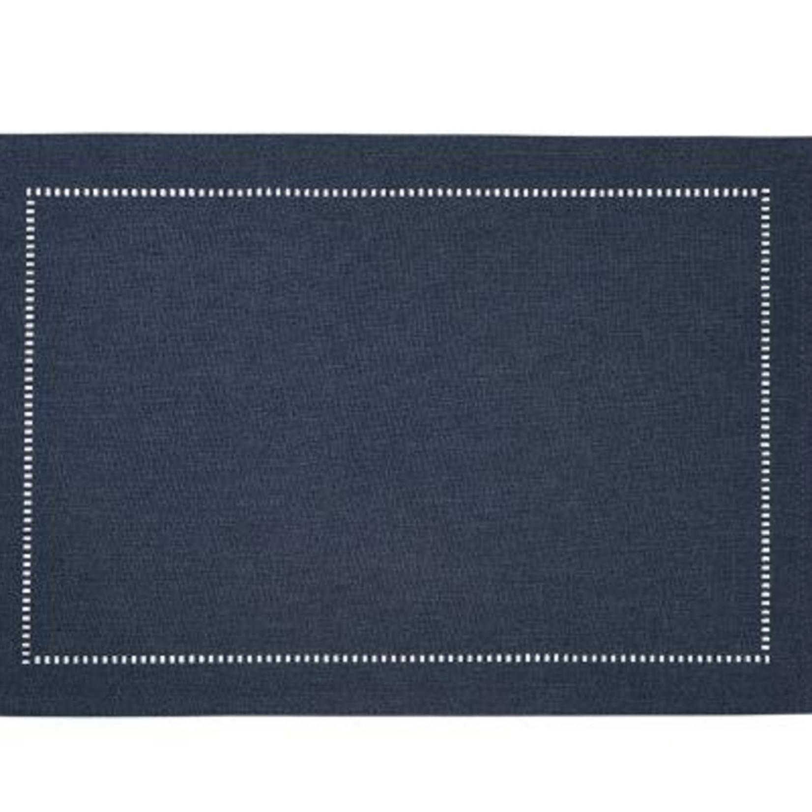 Linen Look Placemat Navy
