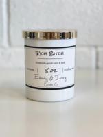 Ebony & Ivory Candle Co. Rich Bitch- 8oz