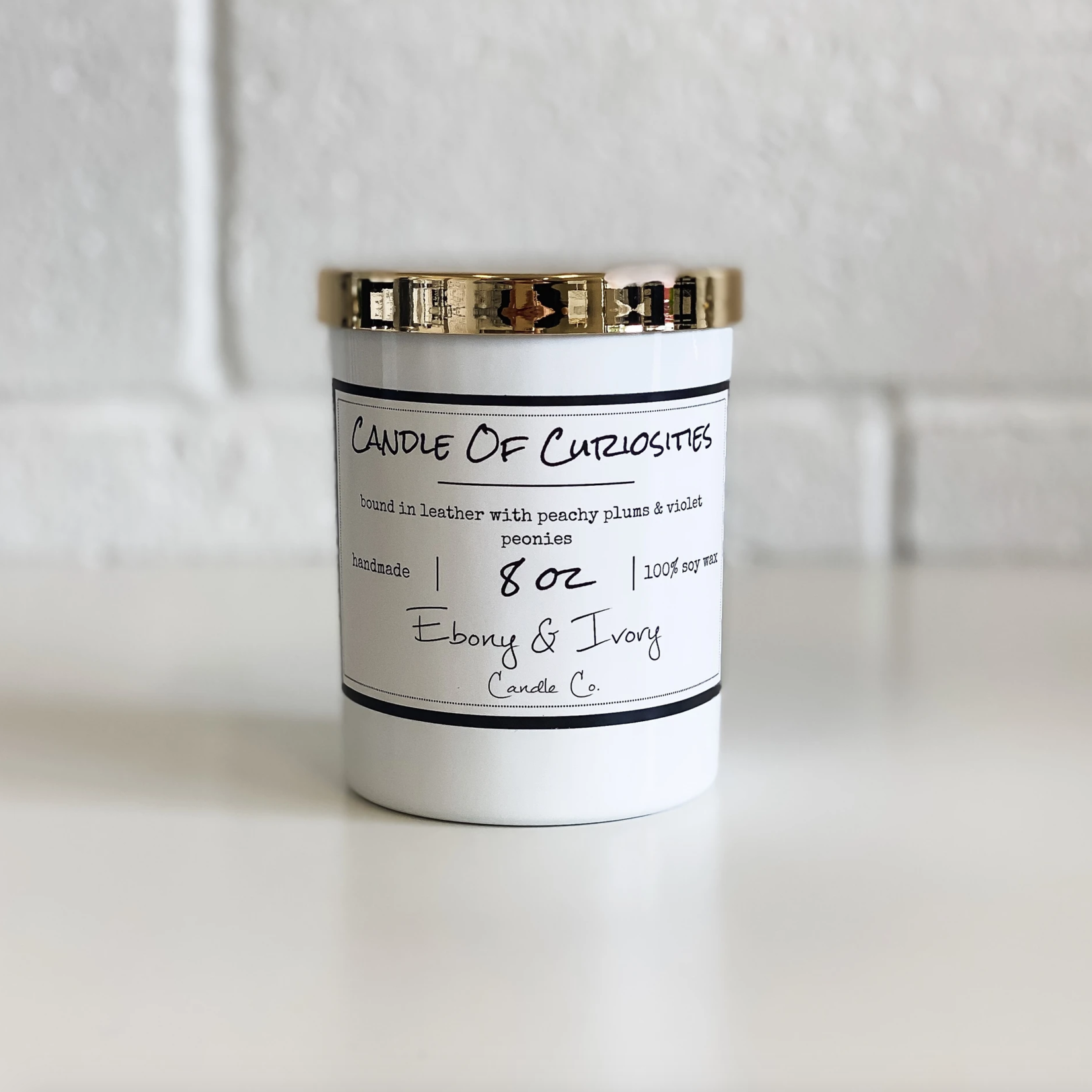 Ebony & Ivory Candle Co. Candle of Curiosities- 8oz