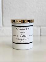 Ebony & Ivory Candle Co. Mountain Fir- 8oz