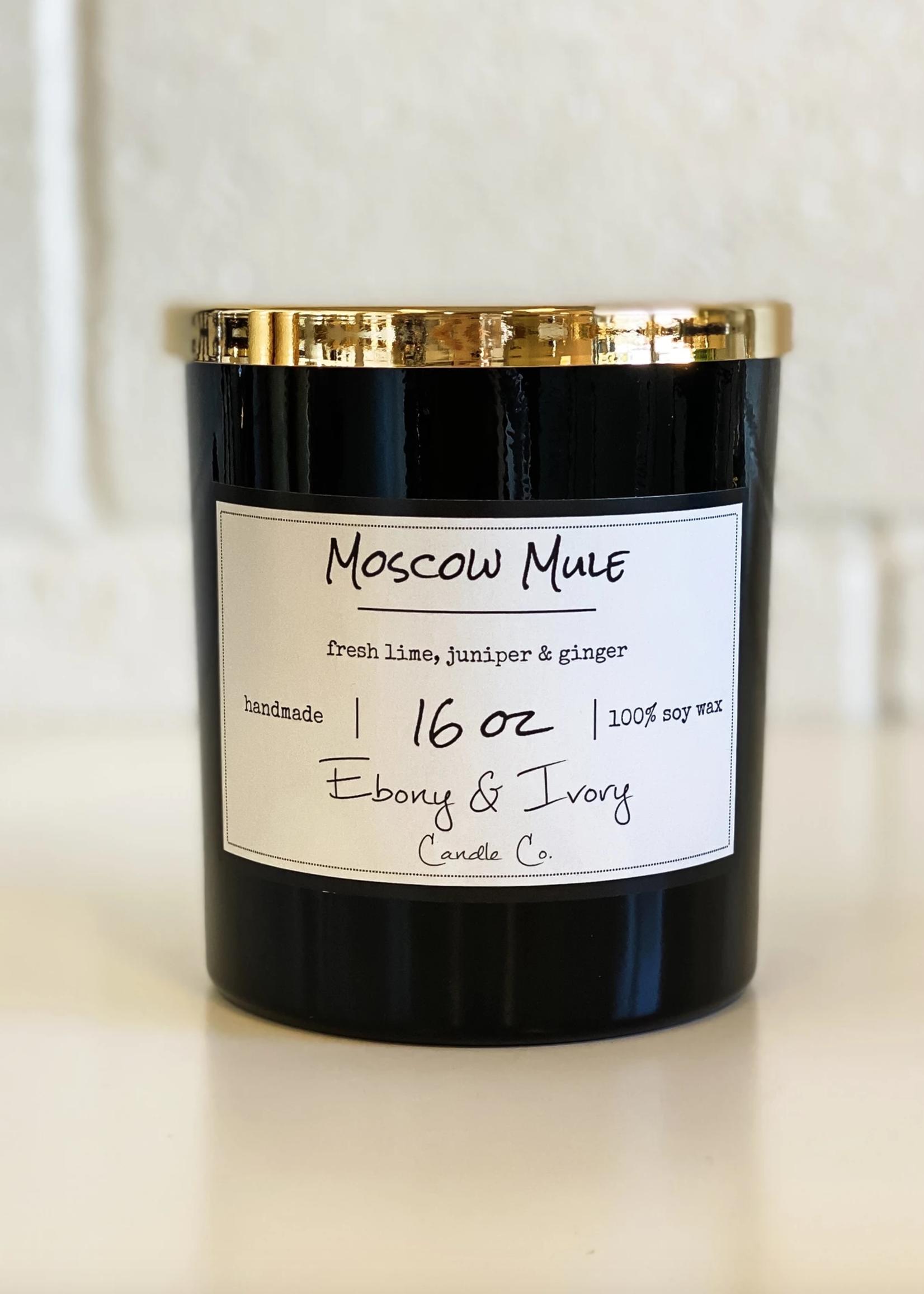 Ebony & Ivory Candle Co. Moscow Mule- 16oz