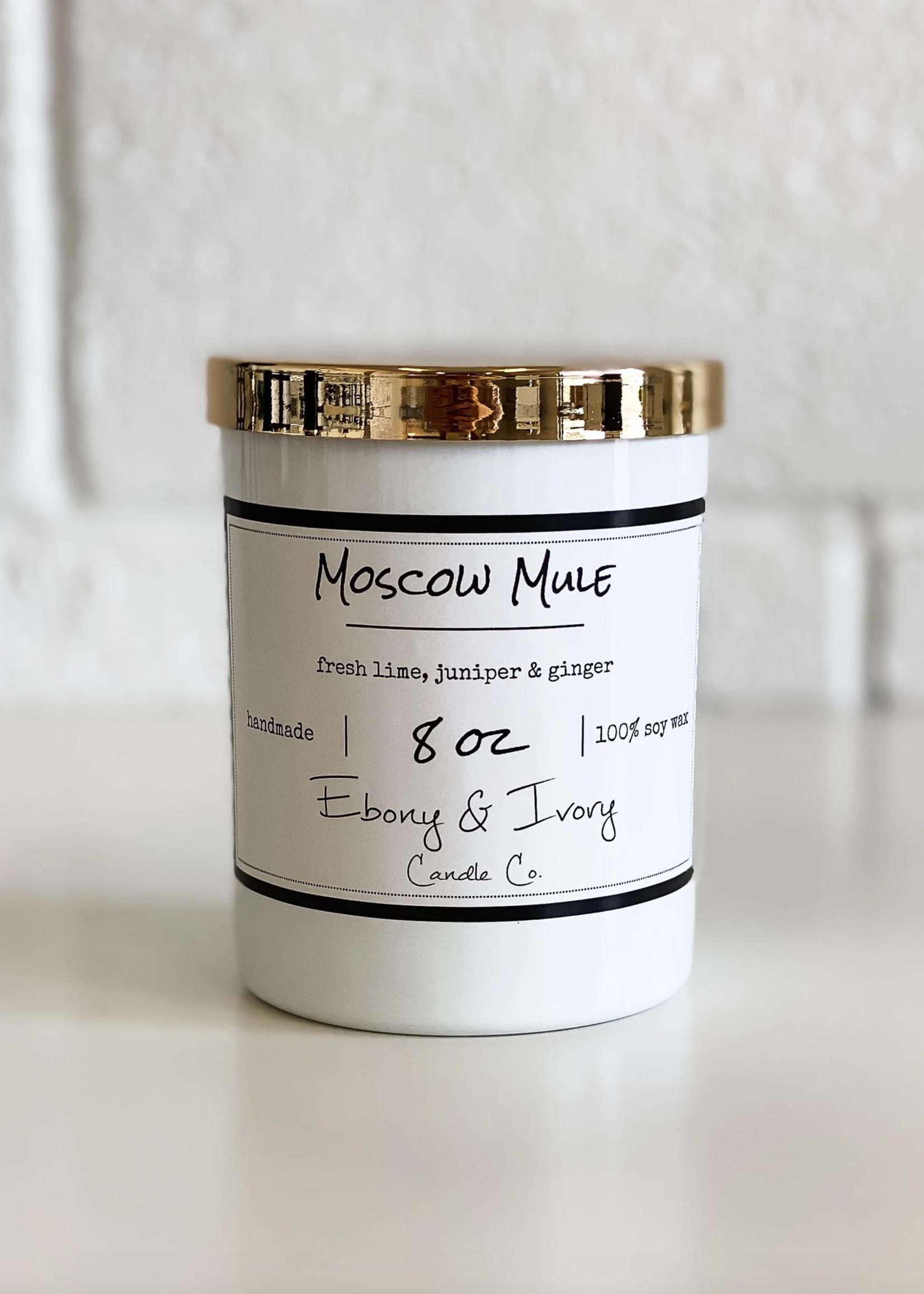 Ebony & Ivory Candle Co. Moscow Mule- 8oz