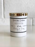 Ebony & Ivory Candle Co. Sicilian Citrus 8oz