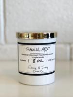 Ebony & Ivory Candle Co. Thank U, NEXT 8oz