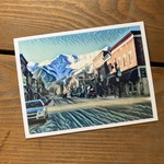 Tannis McDonald Downtown Fernie Postcard