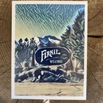 Tannis McDonald Fernie Welcome Sign Postcard