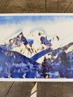 Tannis McDonald Three Sisters Winter Postcard