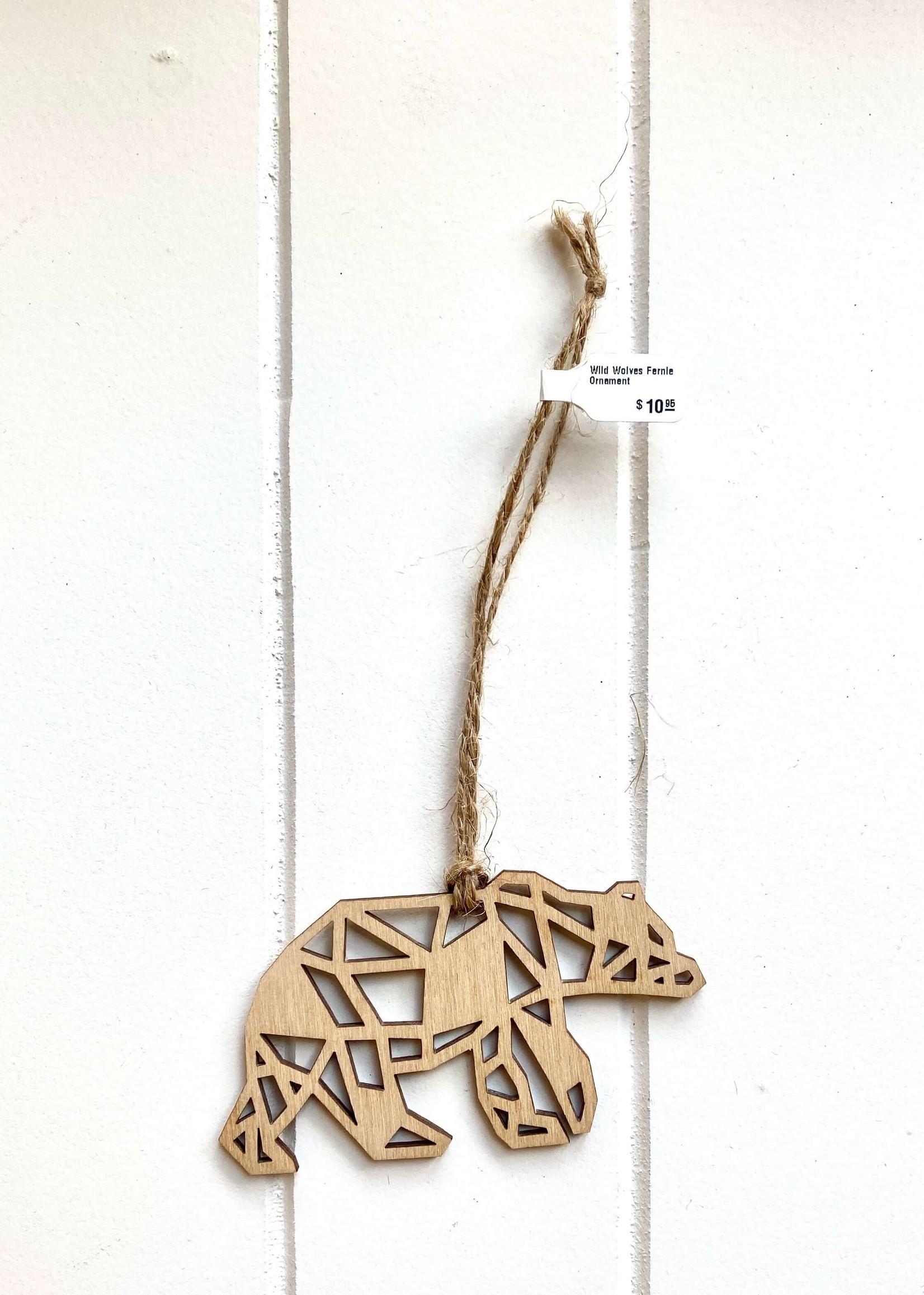 Wild Wolves Design Wild Wolves Fernie Ornament Animals