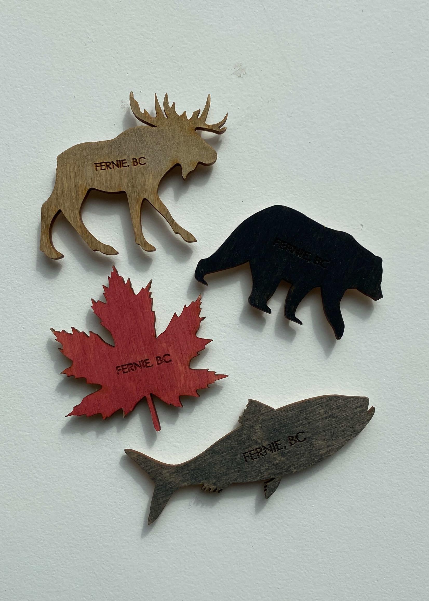 Wild Wolves Design Wild Wolves Fernie BC Magnets