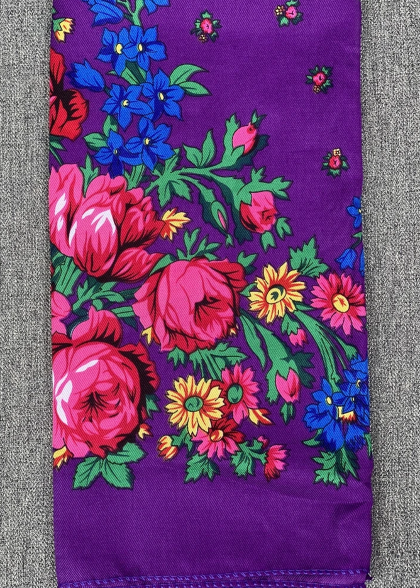 Kokom Scrunchies Purple Kokom Scarf