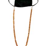Slone Designs Dainty Tortoise Mask Chain
