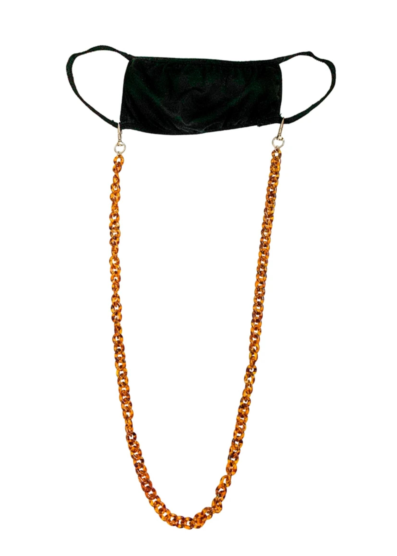 Slone Designs Dainty Tortoise Mask Chain