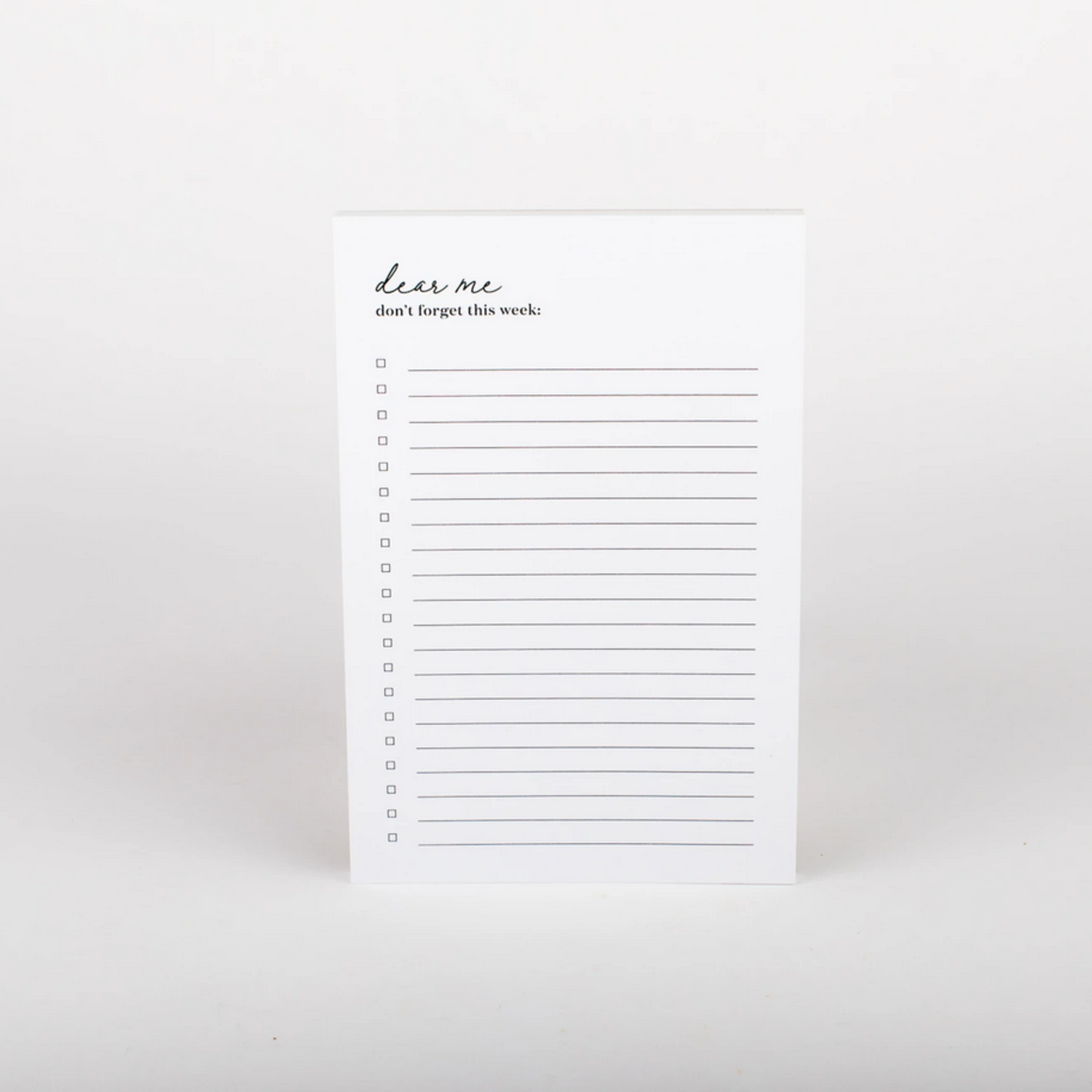 Wrinkle and Crease Dear Me Notepad
