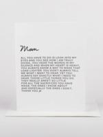 Wrinkle and Crease Dear Mom Card Edition 2