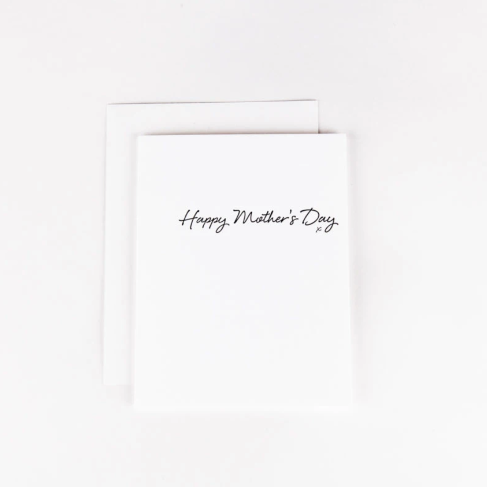 Wrinkle and Crease Happy Mother's Day card