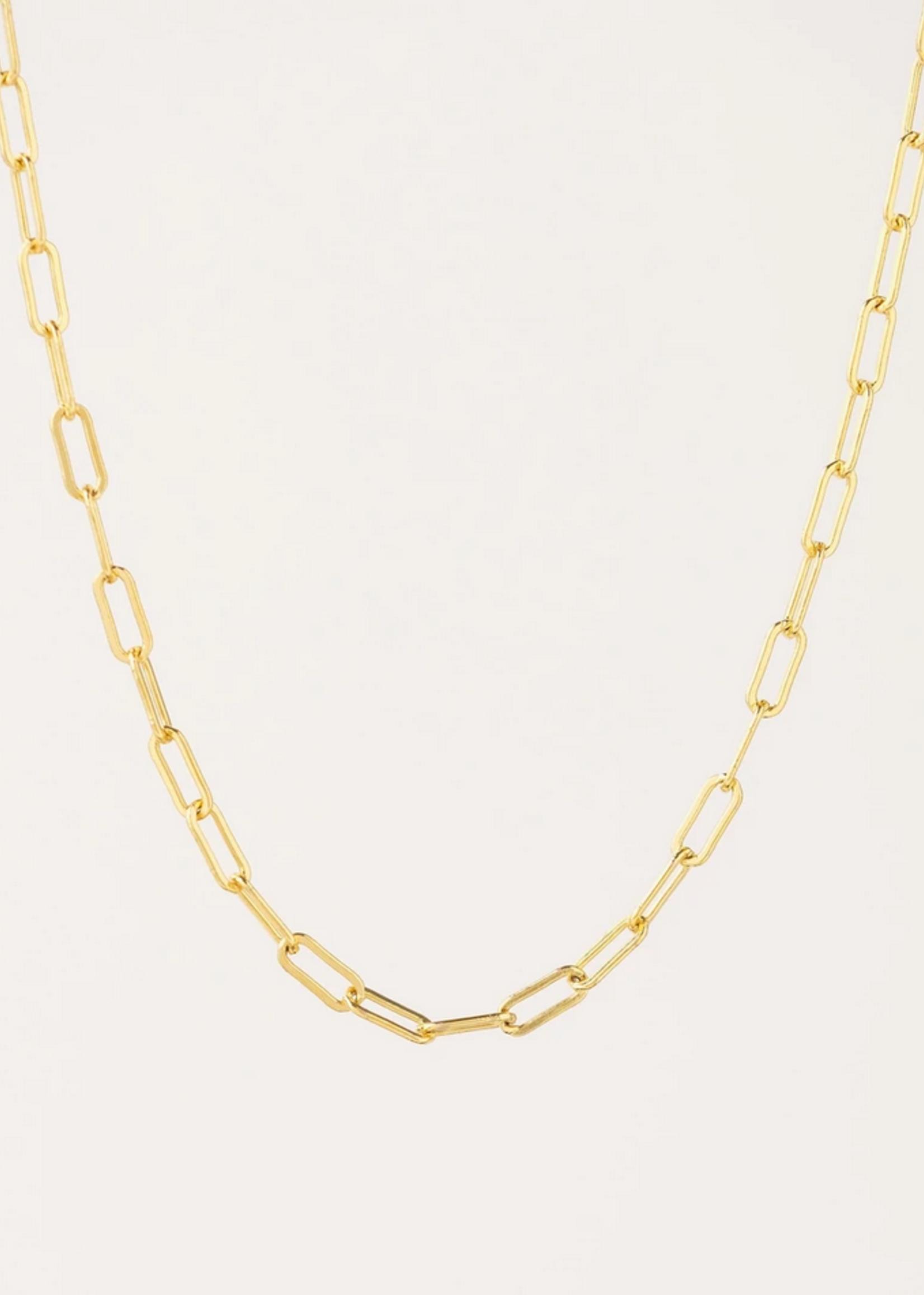 Boyfriend Chain Necklace Gold