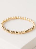 Golden hour large stretch bracelet gold