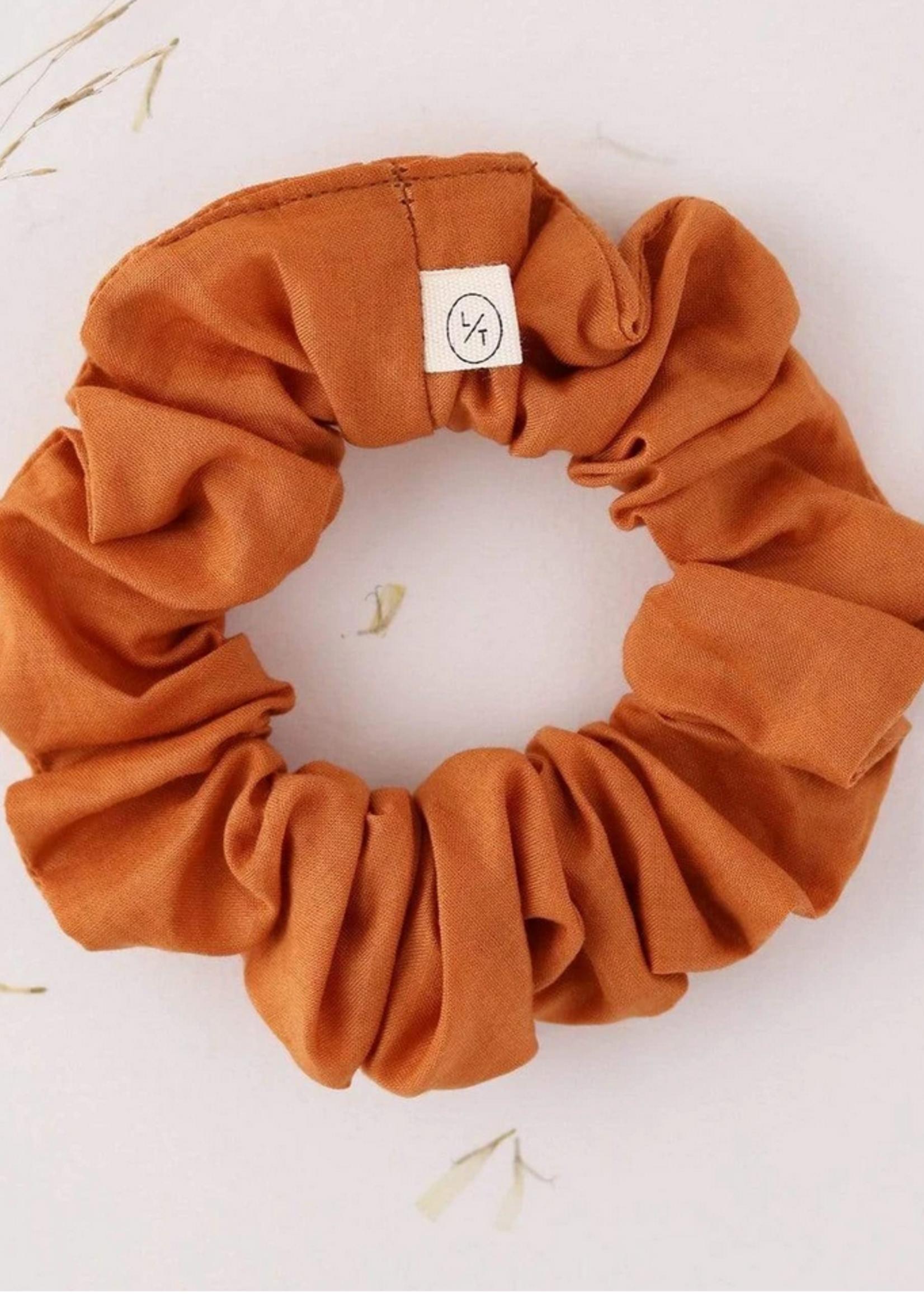 Mini  sunday cotton scrunchie spice