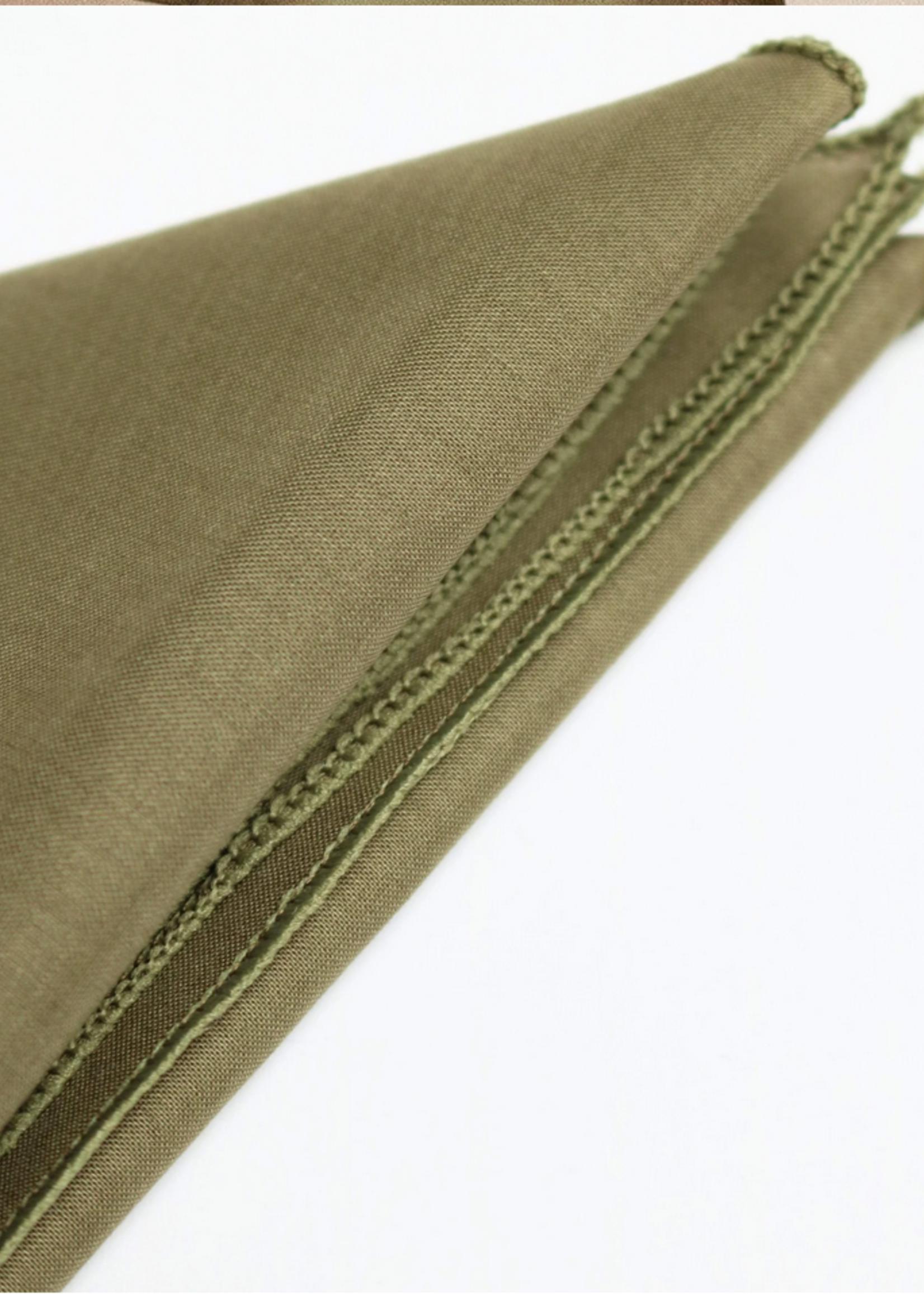 Lana cotton scarf olive