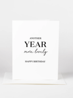 Wrinkle and Crease Another Year more lovely Card
