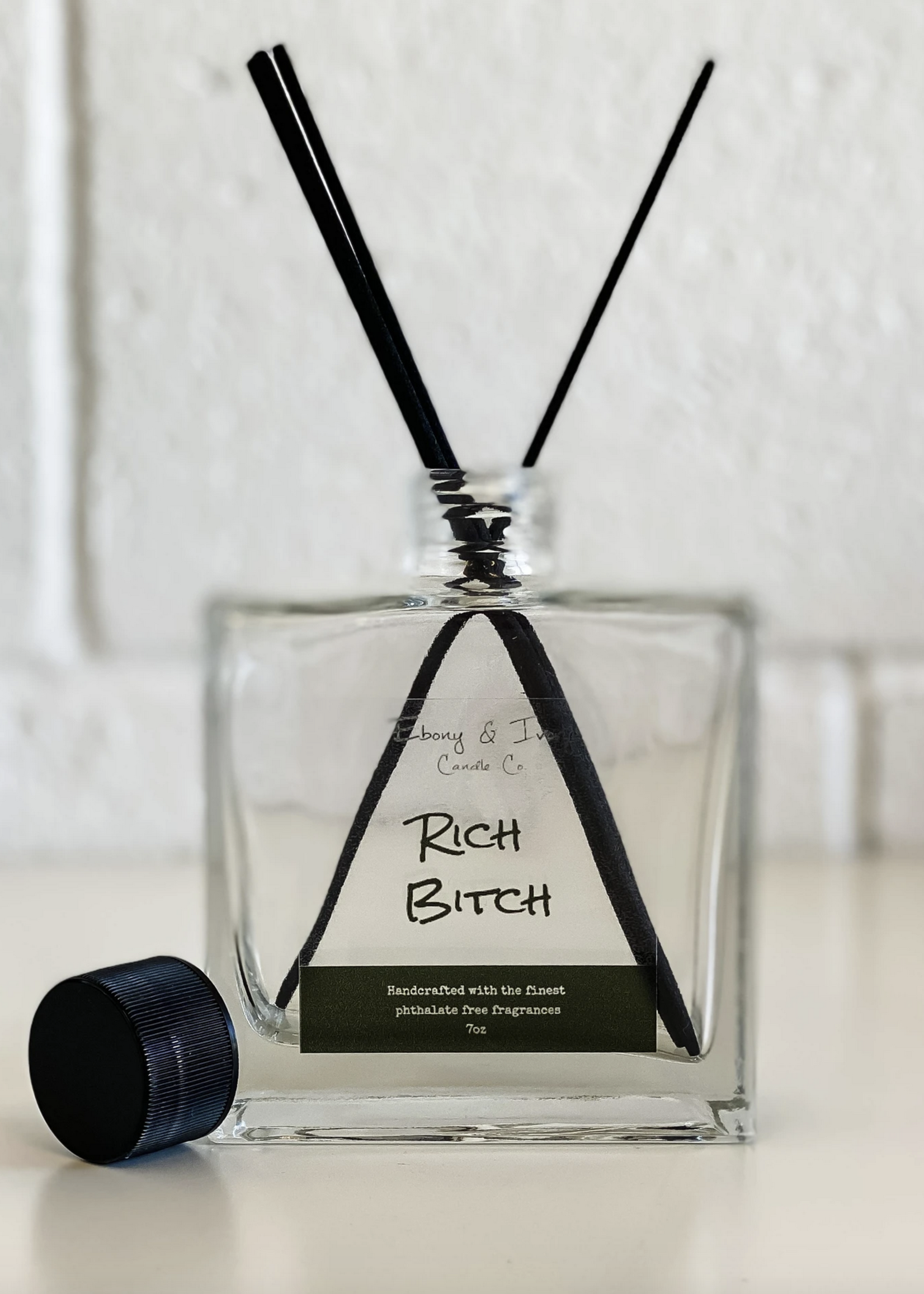 Ebony & Ivory Candle Co. Luxx Diffusers Rich Bitch