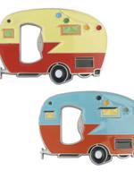 Camper magnet bottle opener