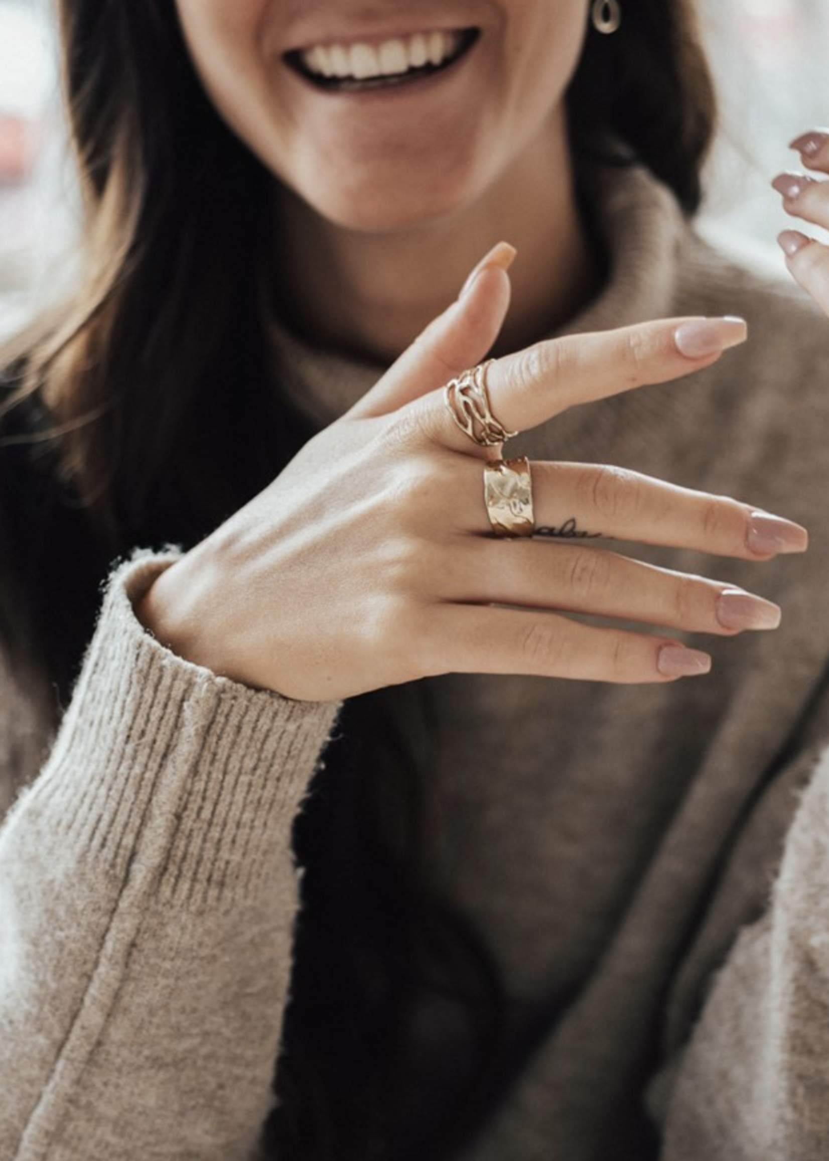 Glee Jewelry Visionary Ring- Rose Gold