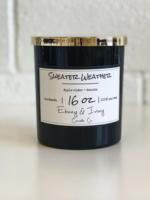 Ebony & Ivory Candle Co. Sweater Weather- 16oz