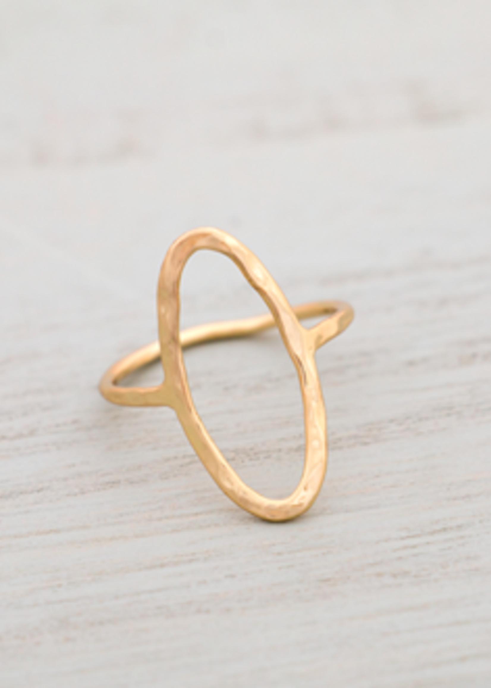 Glee Jewelry Rama ring Gold