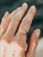 Glee Jewelry Witty Ring Gold