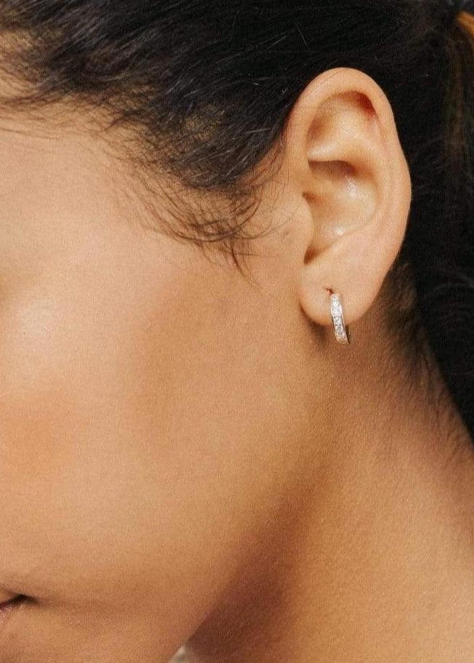 Desi Hoop Earrings Gold