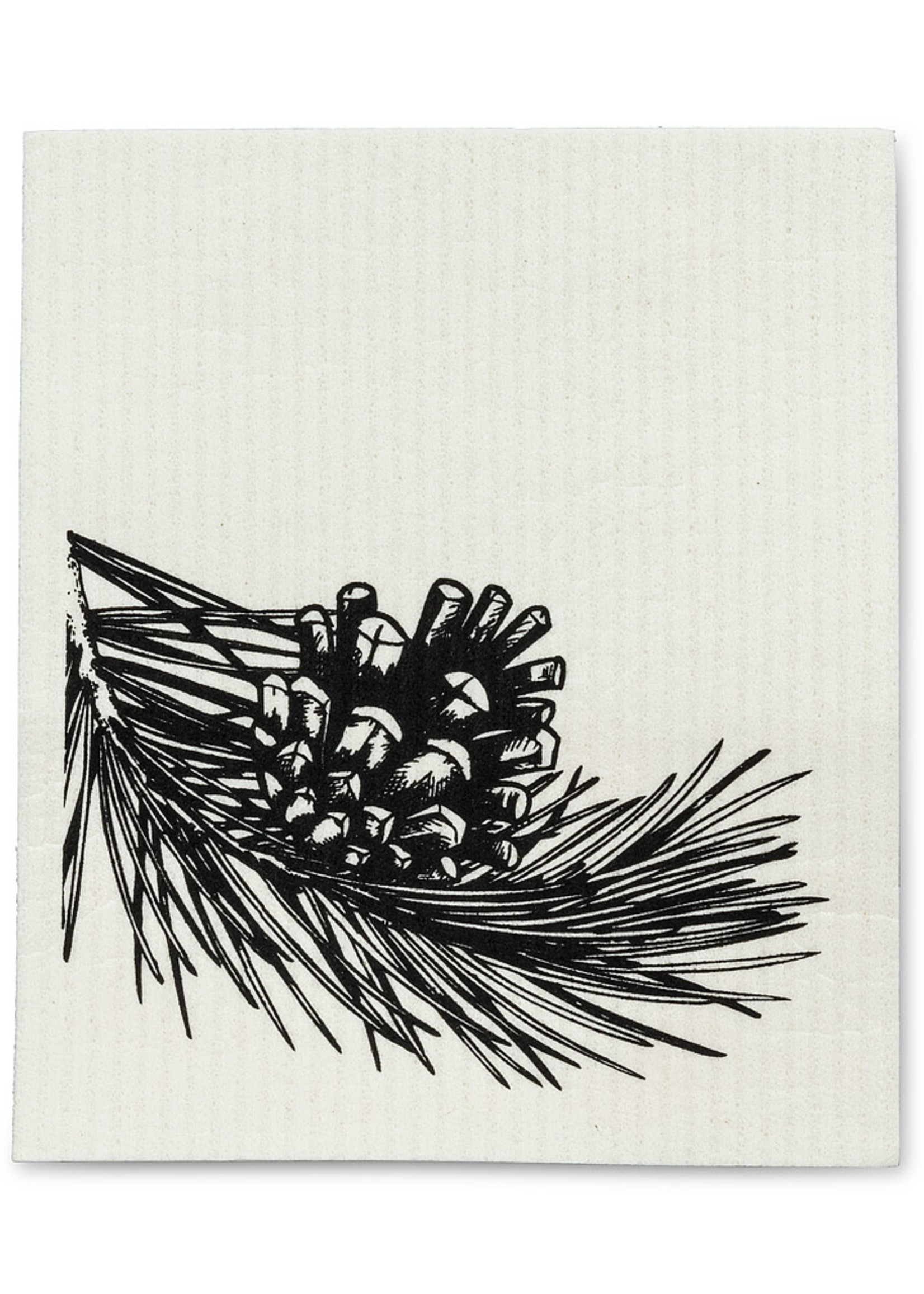 Abbott Pinecone Swedish Dishcloth