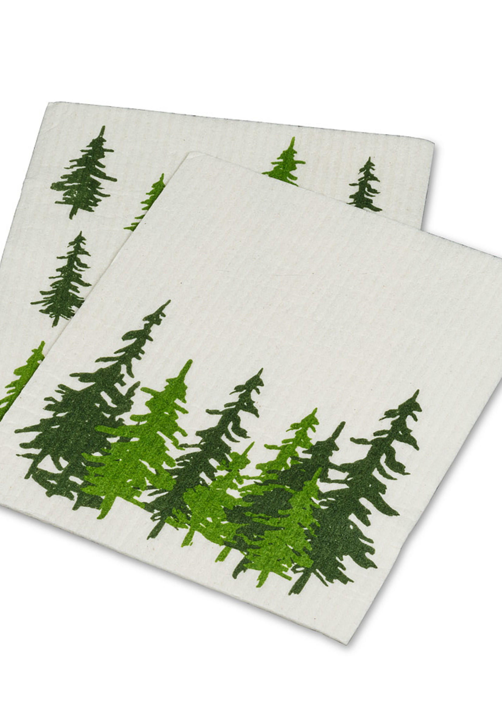Abbott S/2 Swedish Dishcloth (Pine)