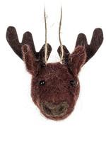 Abbott Deer Head Ornament