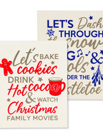 Abbott S/2 Swedish Dischloth Christmas Rules