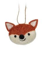 Abbott Fox Head Ornament