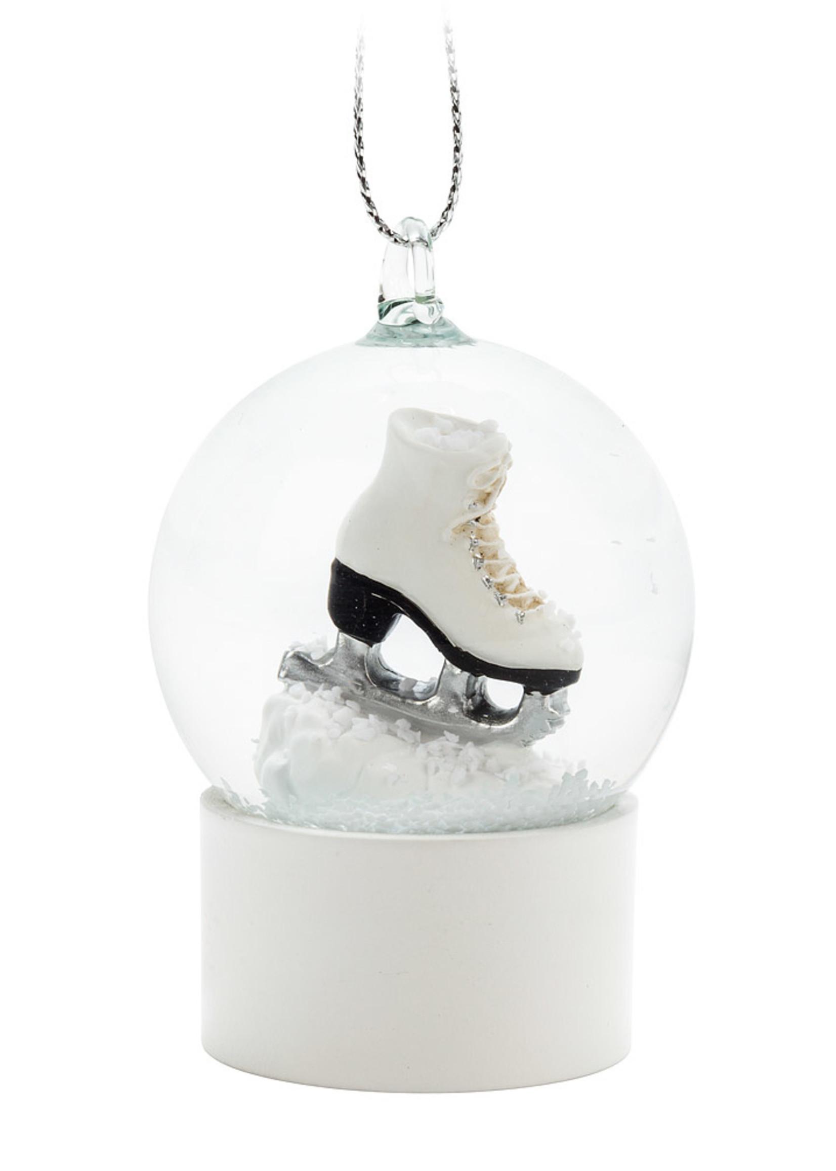 Abbott Small Ladies Skate Snowglobe Ornament