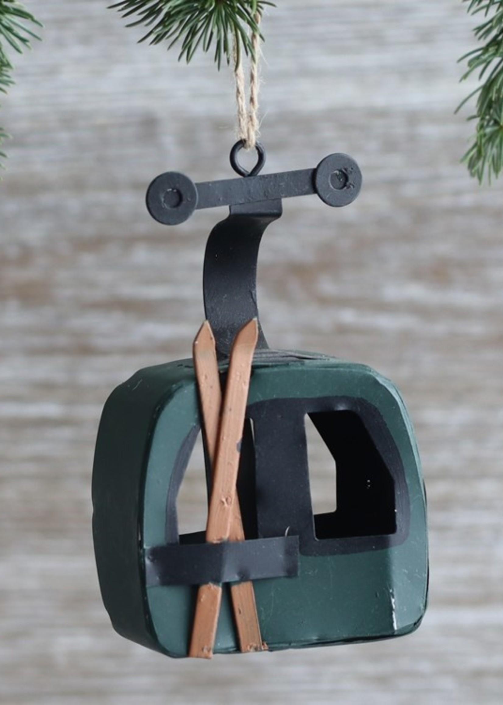 Gondola Ornament green