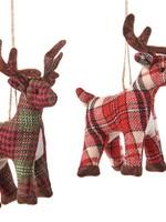 Fabric Deer Ornament