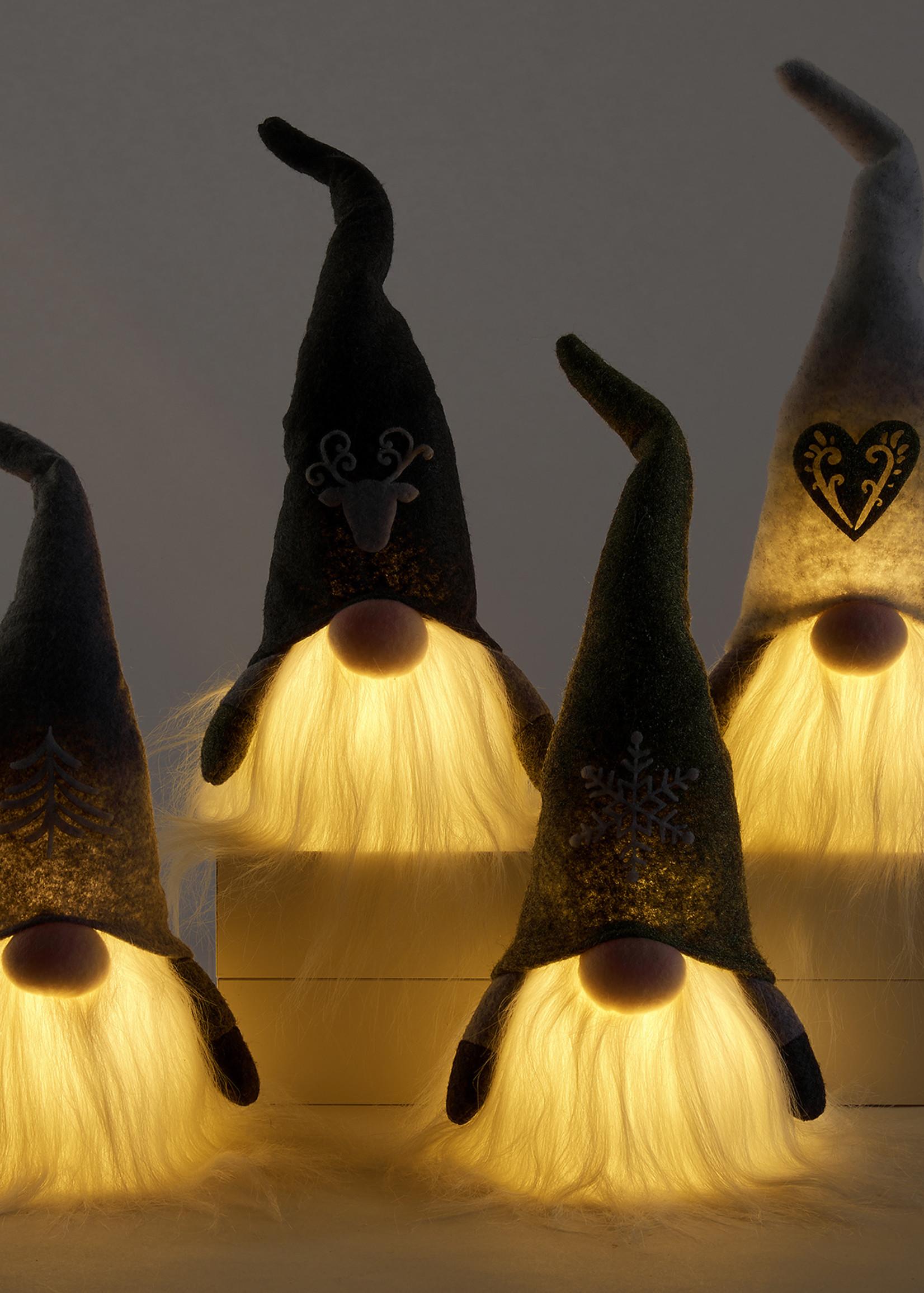 Gnome Ornament. /4 asst.